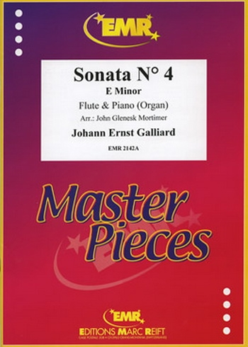 Sonata: No 4: E Minor: Flute & Piano (Marc Reift)