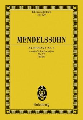 Symphony: A Major Op90: Italian  (Audio Series No 28)