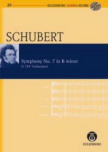 Symphony No.7: B Minor: D759: Unfinished: Miniature Score  (Audio Series No 29)