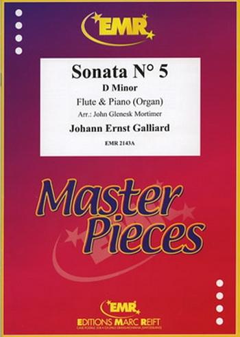 Sonata: No 5: : Flute & Piano (Marc Reift)