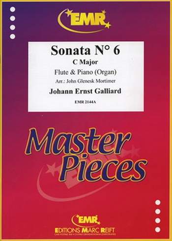 Sonata: No 6: : Flute & Piano (Marc Reift)