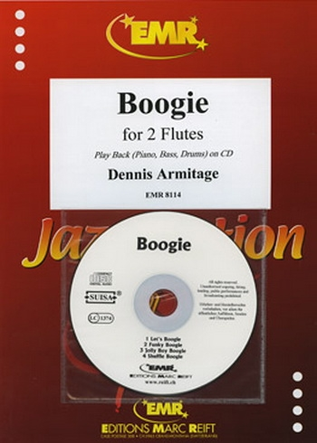 Boogie for 2  Flutes and Piano
