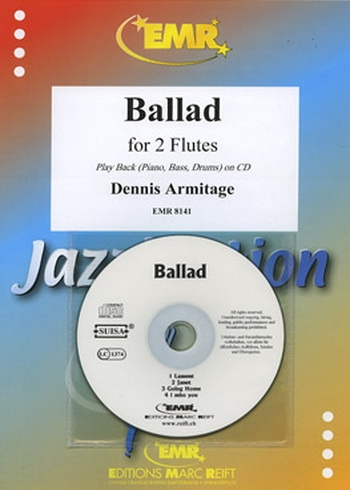Ballad for 2  Flutes and Piano