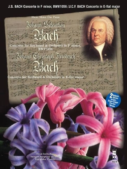 Bach Concerto  Piano and Orchestra: F Minor Bwv1056 and Eb Major : Book & 2 CD