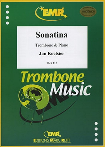 Sonatina : Op58: Bc: Trombone and Piano