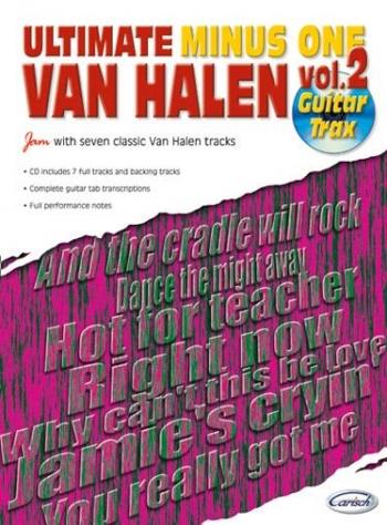 Ultimate Van Halen: Vol2: Guitar Tab : Minus One: Book & CD