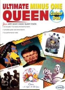 Ultimate Queen: Guitar Tab: Minus One: Guitar Tab: Book And Cd