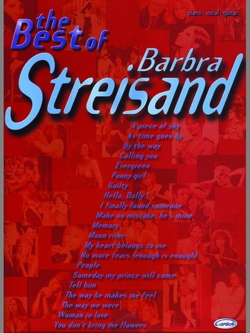 Best Of Barbra Streisand: Piano Vocal Guitar