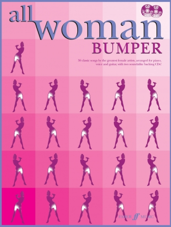 All Woman Bumper: 30 Classic Songs: Piano Vocal Guitar- Bk&cd