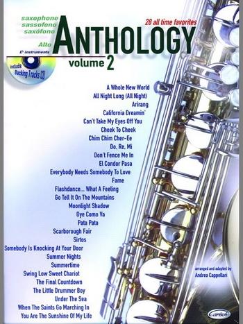Anthology 28 All Time Favorites Vol 2: Alto Saxophone  Book & CD