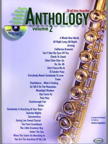 Anthology 28 All Time Favorites: Flute: Book & CD