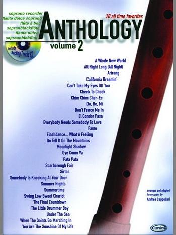 Anthology 28 All Time Favorites: Descant Recorder: Book & CD