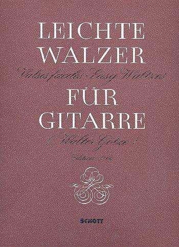 Easy Waltzes: Guitar