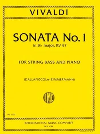 Sonata: Bb  Major: Double Bass