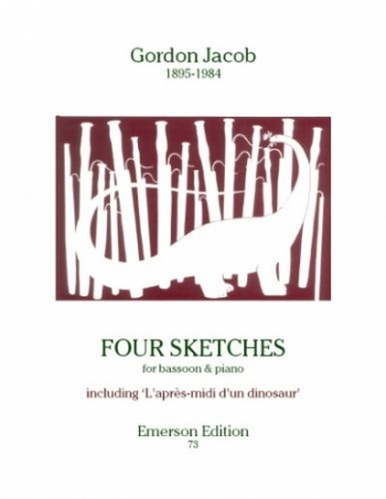 4 Sketches: Bassoon  & Piano (Emerson)