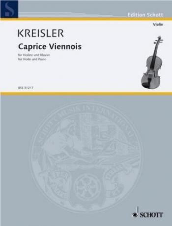 Caprice Vienneois: Violin and Piano