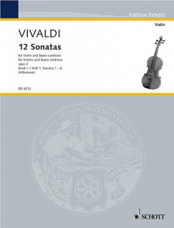 12 Sonatas: Vol 1: Violin and Piano