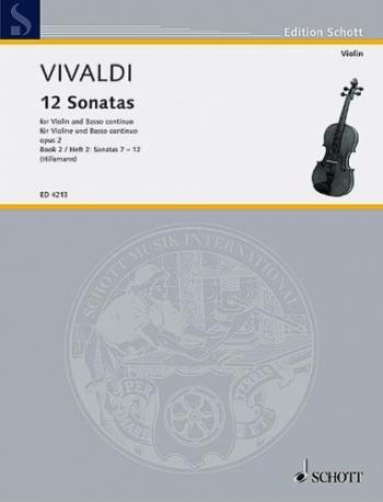 12 Sonatas: Vol 2: Violin and Piano