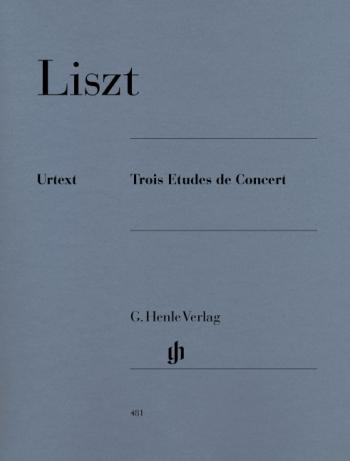 Three Concert Etudes: Trois Etudes De Concert: Piano  (Henle)