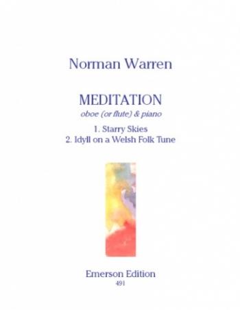 Meditation Oboe Or Flute & Piano  (Emerson)