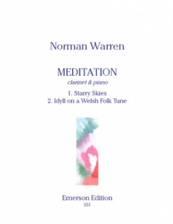 Meditation: Clarinet & Piano (Emerson)