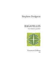 Bagatelles: Clarinet Quartet  (2 Bb Clar/1 A Clar/1 Bass)