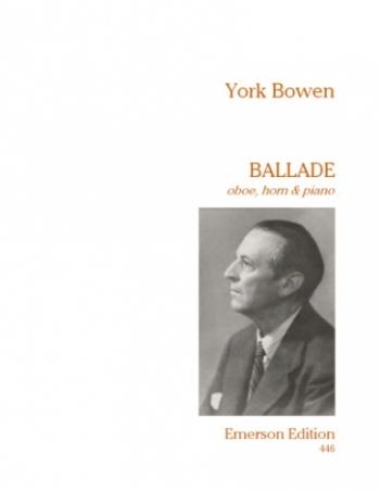 Ballade: Oboe, Horn & Piano: Sc&pts