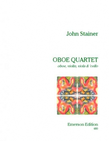 Oboe Quartet: Score and Parts (oboe, Violin, Viola and Cello)