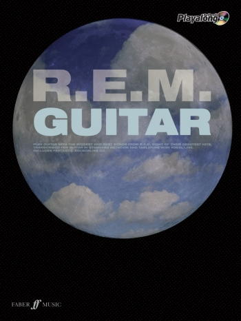 Playalong Guitar Series: Rem: Guitar Tab: Book & CD