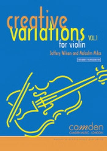 Creative Variations Vol.1 Violin Book & CD (wilson)