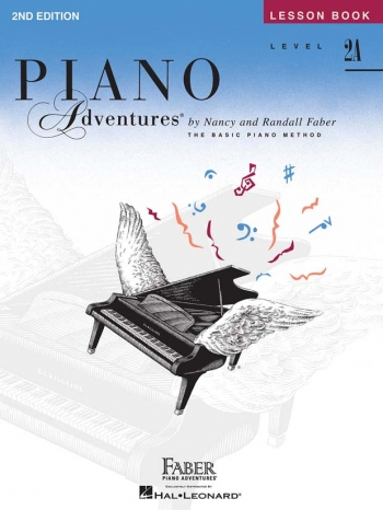 Piano Adventures: Lesson Book: Level 2A