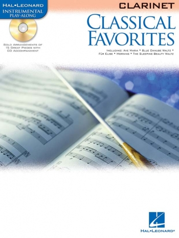 Classical Favourites: Clarinet: Book & CD