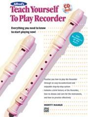Teach Yourself To Play Recorder: Book & Cd: Descant Recorder: (manus)