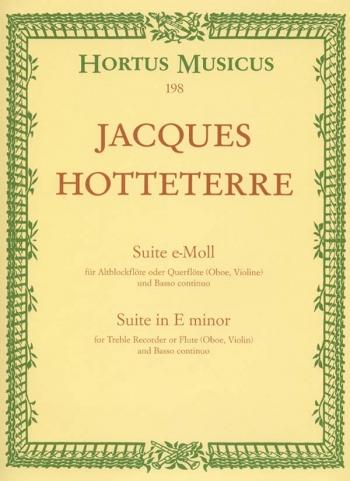 Suite Op 5 No 2: Treblet Recorder & Piano (Hortus Musicus)
