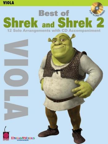 Shrek and Shrek 2: 12 Arrangements: Viola: Book & CD
