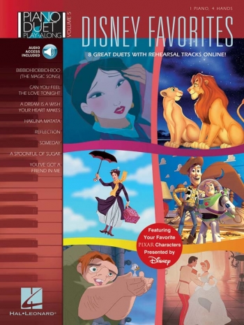 Disney Favourites: 8 Great Duets With Playalong Cd