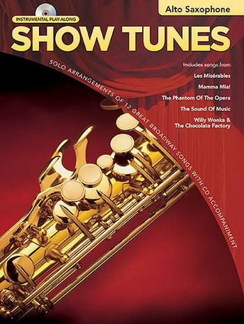 Instrumental Play-along: Show Tunes: Alto Saxophone Bk&cd