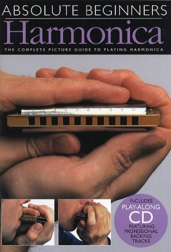 Absolute Beginners: Harmonica: Compact Edition: Tutor: Bk & cd & Harmonica