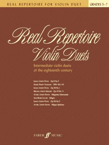 Real Repertoire: Violin Duets : Grade 5-7: Intermediate Violin Duets