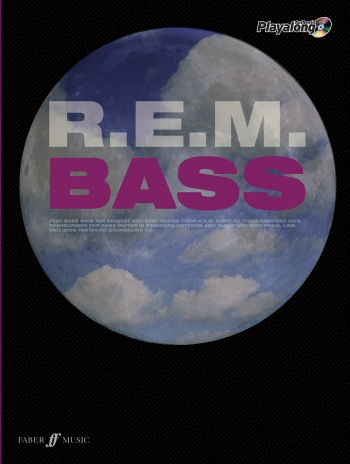 Authentic Playalong: Rem: Bass Guitar: Book & CD