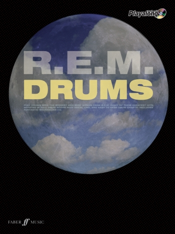 Authentic  Playalong: REM: Drum: Book & CD