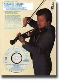 Violin Concerto A Minor & D Major Op.3 Book & CD (mmo)