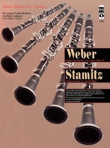 Clarinet Concerto No 1 in F and Stamitz Concerto No3 In Bb: Clarinet: Bk&2cd (mmo)
