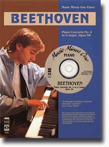 Piano Concerto No.4 G Major  Op.58: Piano: Book & cd (mmo)