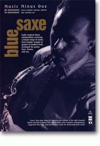 Music Minus One: Blue Saxe Bb Or Eb Saxophone