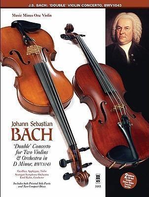 Concerto D Minor Bwv1043: 2 Violins & Piano Book & CD (MMO)