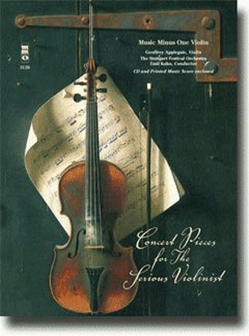 Music Minus One: Concert Pieces For Serious Violinist