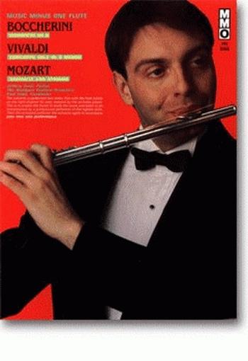 Music Minus One: Boccherini and Vivaldi Concerto and Mozart Andante: Flute: Book & CD