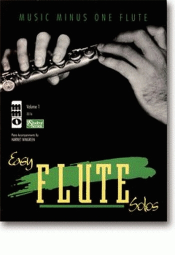 Music Minus One  Easy Jazz Solos: Flute: Book & 2CDs