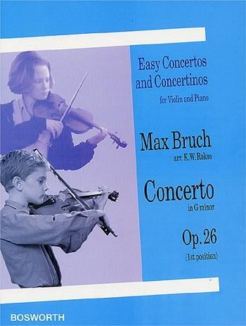 Violin Concerto No.1 G Minor Op.26: Violin (Bosworth)